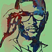 Usher Raymond Iv  - Stylised Pop Art Sketch Poster Art Print