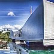 Uss Arizona Memorial- Pearl Harbor Art Print