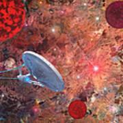 U.s.s Enterprise -orion  Art Print