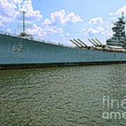 Uss New Jersey Art Print