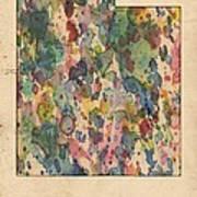 Utah Map Vintage Watercolor Art Print