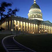 Utah State Capitol Building Art Print