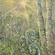 Utopia Fiddle Light Art Print