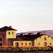 V. Sattui Winery Art Print