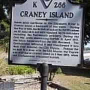 Va-k266 Craney Island Art Print
