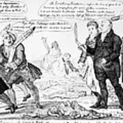Vaccination Cartoon, 1808 Art Print
