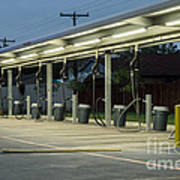 Vacuums At Car Wash Art Print