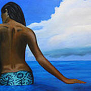 Vahine De Tahiti Art Print