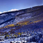 Vail Sunrise Art Print