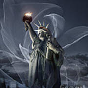 Light Of Liberty Art Print