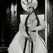 Valentina Koshubaas The Bride In Les Noces Art Print