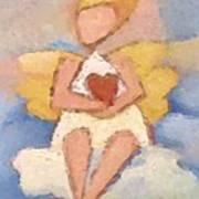 Valentine Angel Art Print