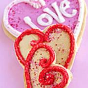 Valentine Hearts Art Print