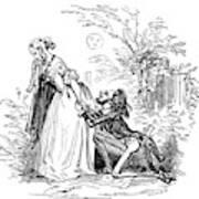 Valentines Day, 1855 Art Print