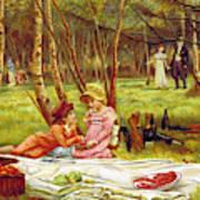 Valentines Day, 1883 Art Print