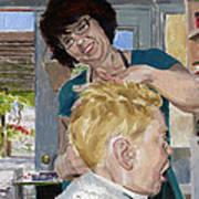 Valerie Stewart's Salon Art Print