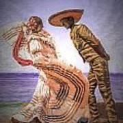Vallarta Dancers Art Print