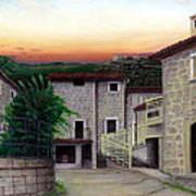 Vallecchia De Monte Calvo Art Print