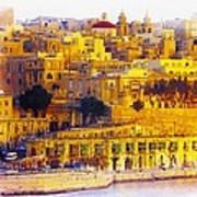 Valletta Capital Of Malta Art Print