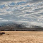 Valley Clouds Art Print
