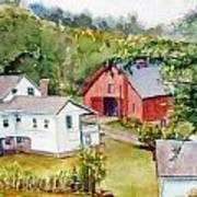 Valley Falls Art Print