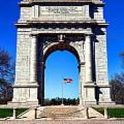 Valley Forge Landmark Art Print by Olivier Le Queinec