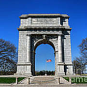 Valley Forge Park Memorial Arch Art Print