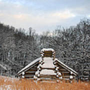 Valley Forge Winter 1 Art Print
