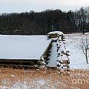 Valley Forge Winter 10 Art Print