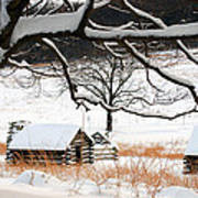 Valley Forge Winter 4 Art Print