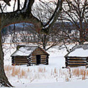 Valley Forge Winter 6 Art Print