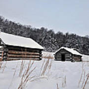 Valley Forge Winter 7 Art Print
