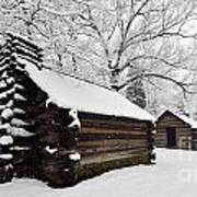Valley Forge Winter 9887 Art Print