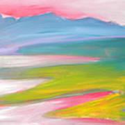 Valley Morning 1 Sunrise Art Print