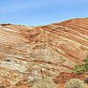 Valley Of Fire - Fire Wave Panorama Art Print