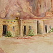 Valley Of Fire Cabins Art Print