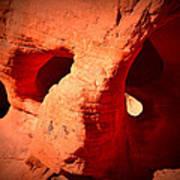 Valley Of Fire Nevada Desert Beehives Art Print