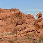 Valley Of Fire Rock Formations Art Print