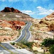 Valley Of Fire State Park Art Print