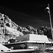 Valley Of Fire State Park Visitors Center Nevada Usa Art Print