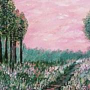 Valley Of Flowers Art Print