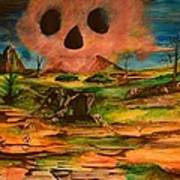 Valley Of The Skulls Art Print