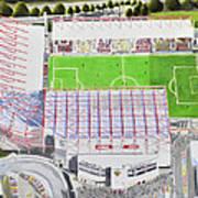 Valley Parade Stadia Art - Bradford City Fc Art Print