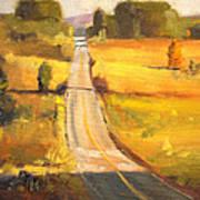 Valley Road Art Print