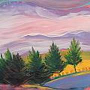 Valley Storm 8 Art Print