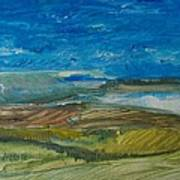 Valley Storm Art Print