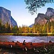 Valley View - Yosemite National Park Art Print