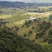 Valley View Of  Atherton Tableland Art Print