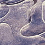 Valleys Of Ice Art Print