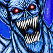 Vampbat Art Print